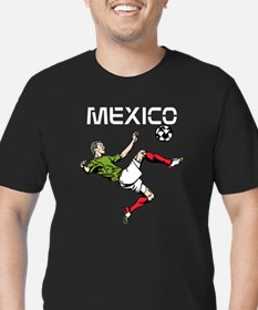 Mexico Men's Fitted T-Shirt (dark)