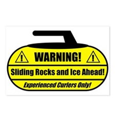 """Warning! Sliding Rocks..."" Postcards (Package of"