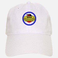 """Warning! Sliding Rocks..."" Baseball Baseball Cap"