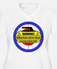 """Warning! Sliding Rocks..."" T-Shirt"