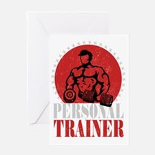 PERSONAL TRAINER Greeting Card