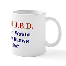 What Would JOHN BROWN Do Mug