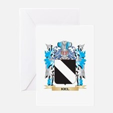 Kiel Coat of Arms - Family Crest Greeting Cards