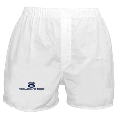 Retired Physical Education Te Boxer Shorts