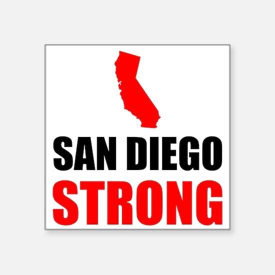 San Diego Strong Sticker