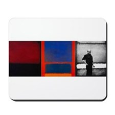 ROTHKO 2 PAINTS AND SELF Mousepad