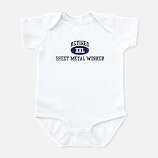 Retired Sheet Metal Worker Infant Bodysuit