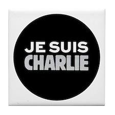 Je Suis Charlie Tile Coaster