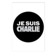 Je suis Charlie Postcards (Package of 8)
