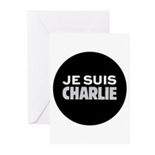 Je suis Charlie Greeting Cards (Pk of 10)