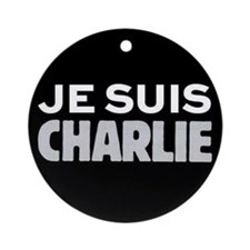 Je suis Charlie Ornament (Round)