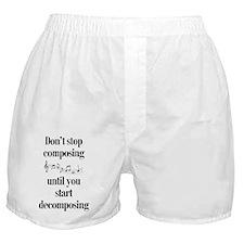 Composing Boxer Shorts