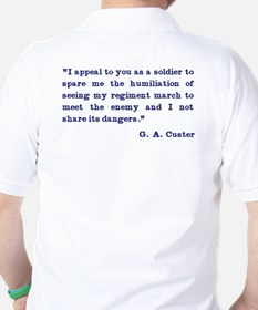 What would CUSTER Do T-Shirt
