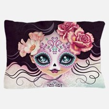 Camila Huesitos Sugar Skull Pillow Case