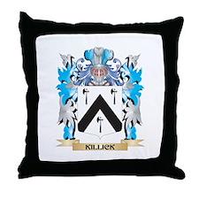 Killick Coat of Arms - Family Crest Throw Pillow