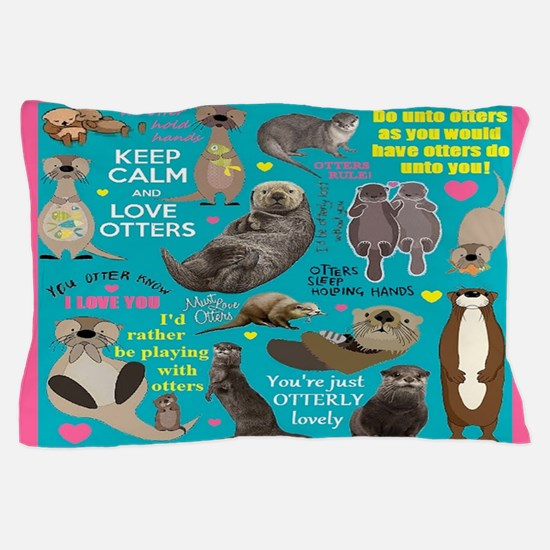 Otters Pillow Case