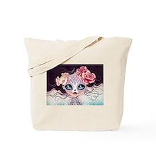 Camila Huesitos Sugar Skull Tote Bag