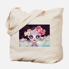 Camila Huesitos Sugar Skull Tote Bag