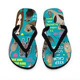 Otters Flip Flops