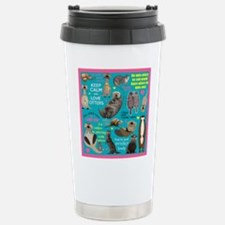 Otters Stainless Steel Travel Mug