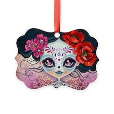 Amelia Calavera Sugar Skull Ornament