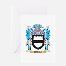 Kimble Coat of Arms - Family Crest Greeting Cards
