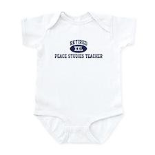 Retired Peace Studies Teacher Infant Bodysuit