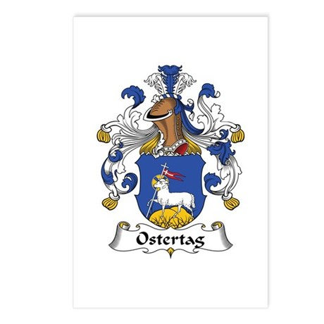 Ostertag Postcards (Package of 8)