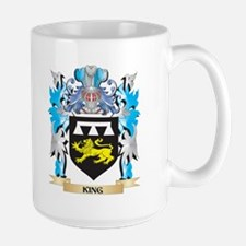 King Coat of Arms - Family Crest Mugs