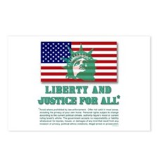 Liberty - Legal Disclaimer Postcards (Package of 8