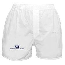 Retired Religious Studies Tea Boxer Shorts