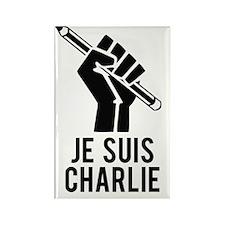Je Suis Charlie Rectangle Magnet