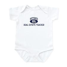 Retired Real Estate Teacher Infant Bodysuit