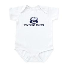 Retired Vocational Teacher Infant Bodysuit