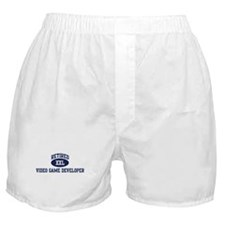 Retired Video Game Developer Boxer Shorts
