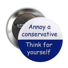 think for yourself Button