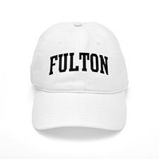 FULTON (curve-black) Baseball Cap