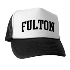 FULTON (curve-black) Trucker Hat