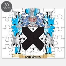 Kirsten Coat of Arms - Family Crest Puzzle