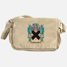 Kirsten Coat of Arms - Family Crest Messenger Bag