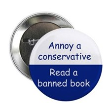 Read a banned book Button