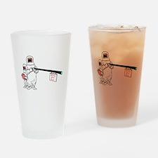 Hazmat Team Drinking Glass