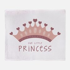 Our little princess Throw Blanket