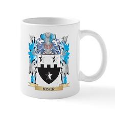 Kiser Coat of Arms - Family Crest Mugs