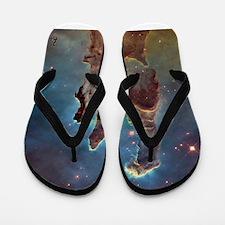 Pillars of Creation 2015 Eagle Nebula Flip Flops