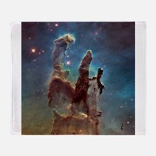 Pillars of Creation 2015 Eagle Nebula Throw Blanke