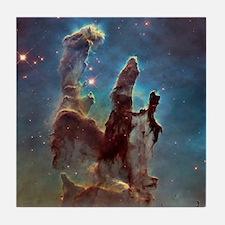 Pillars of Creation 2015 Eagle Nebula Tile Coaster