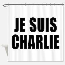 JE SUIS CHARLIE Shower Curtain