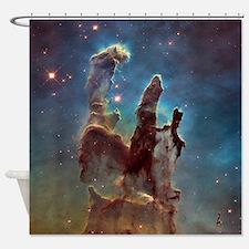 Pillars of Creation 2015 Eagle Nebula Shower Curta