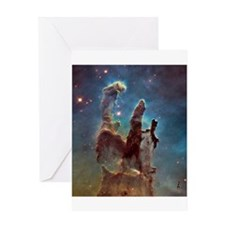 Pillars of Creation 2015 Eagle Nebula Greeting Car
